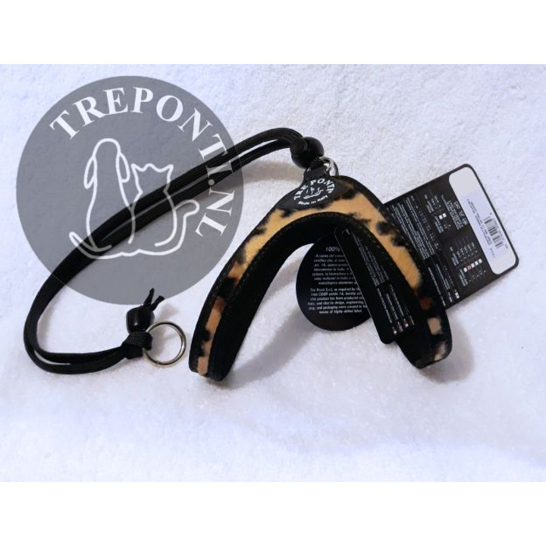 Tre Ponti Liberta fashion animal luipaard tan