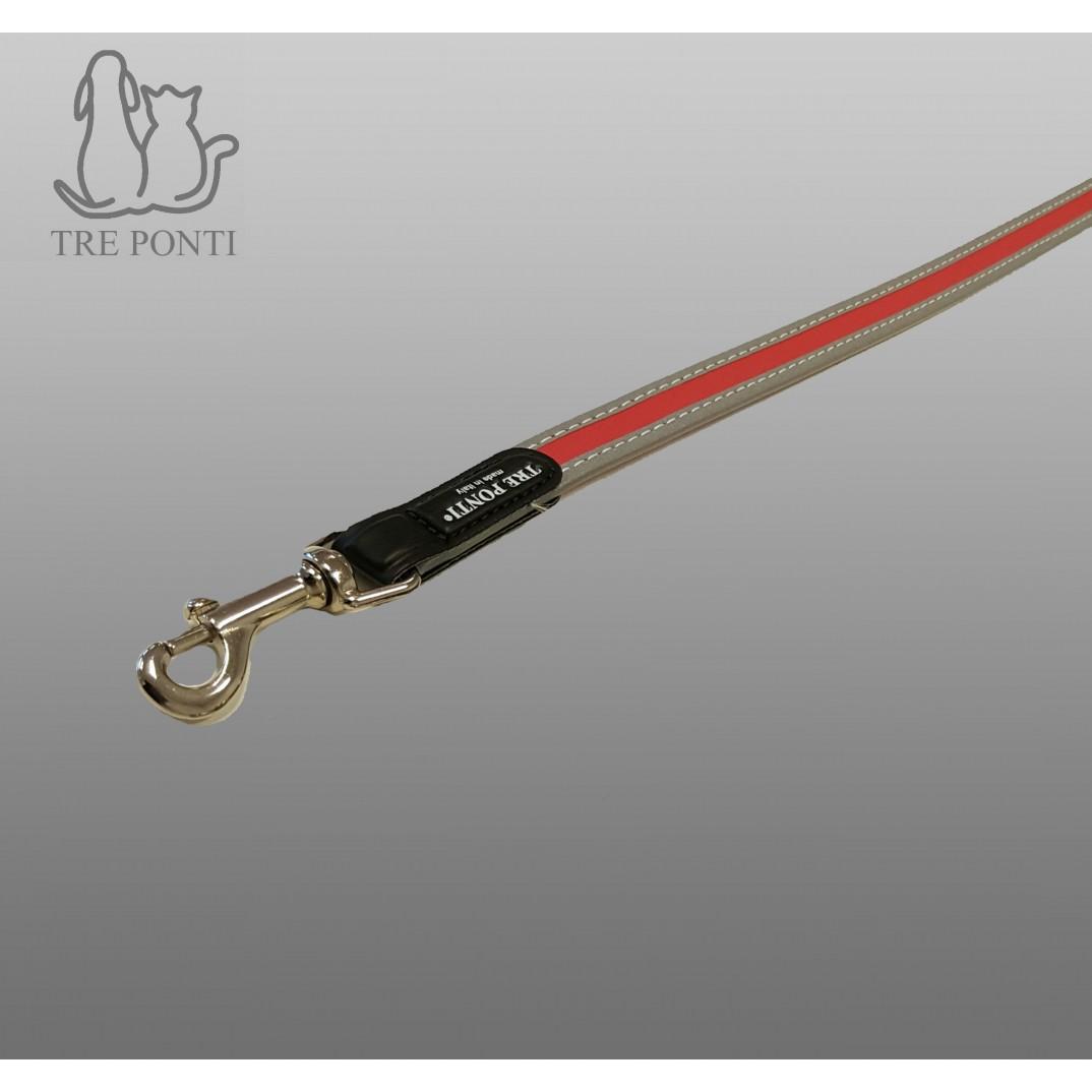 Tre Ponti looplijn Fibbia reflective rood